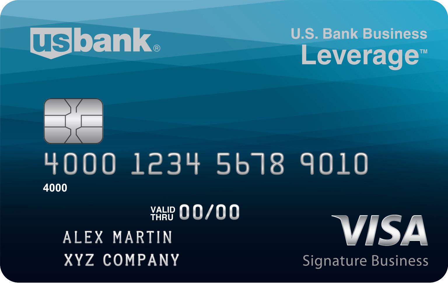 us bank business leverage visa signature - Us Bank Business Credit Card