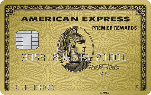 the premier rewards gold card - American Express Business Credit Card