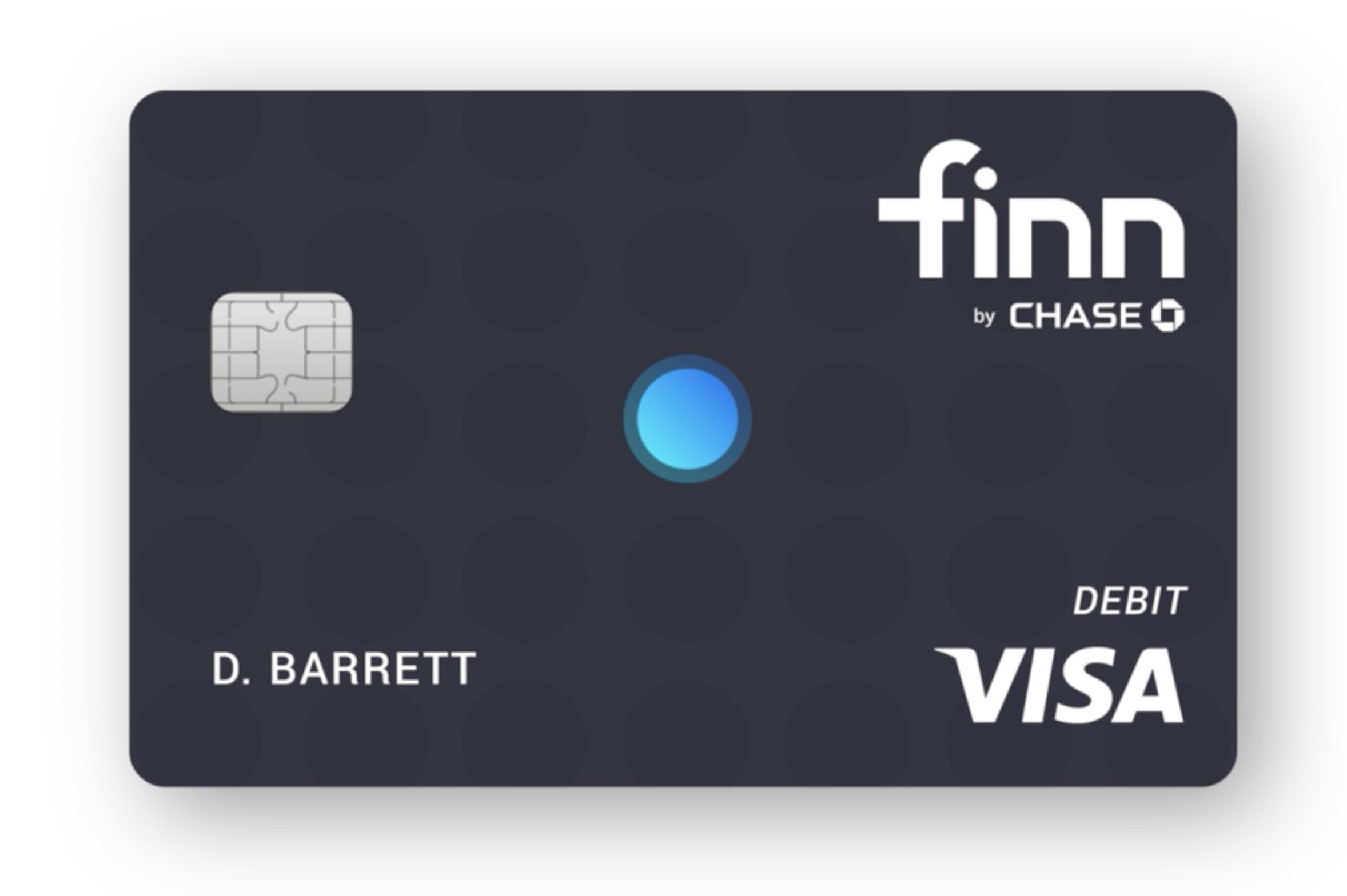 The Finn By Chase Debit Card