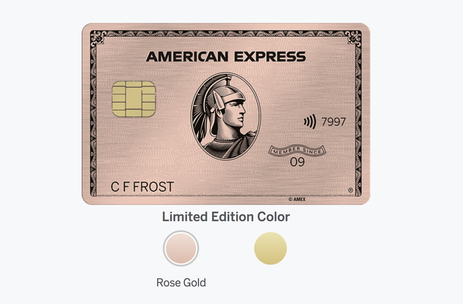 The Amex Rose Gold is Back - How to Get it - The Credit Shifu
