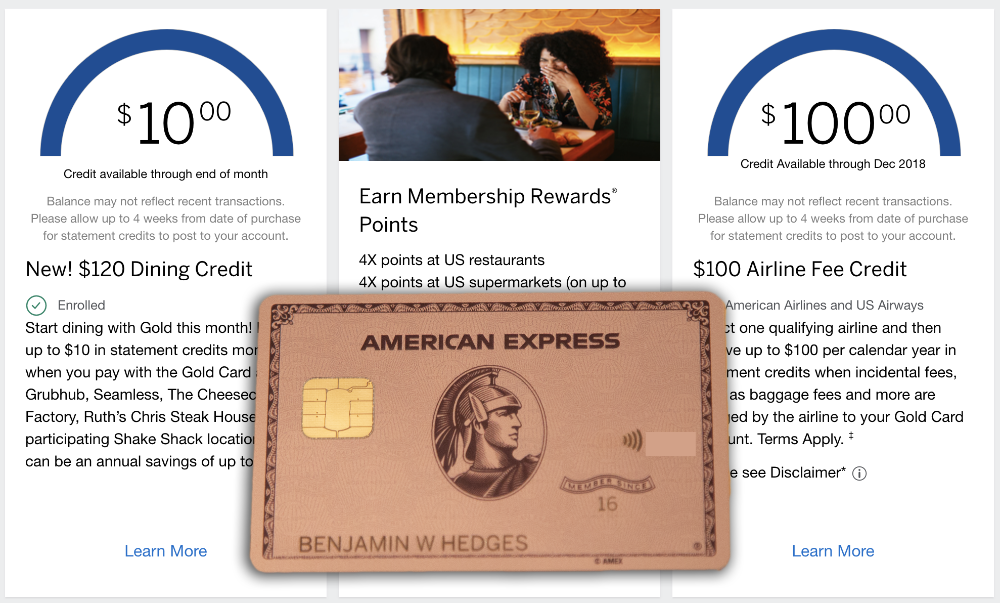15 Things to do once you get the Amex Gold Card - The Credit Shifu